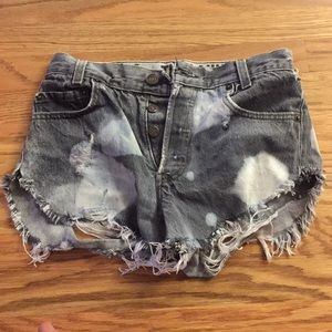 The Laundry Room-Levi Strauss High Waisted Shorts